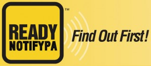 ReadyNotifyPA logo yellow
