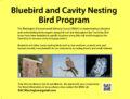 Icon of EAC Bluebird & Cavity Nesting Bird Program